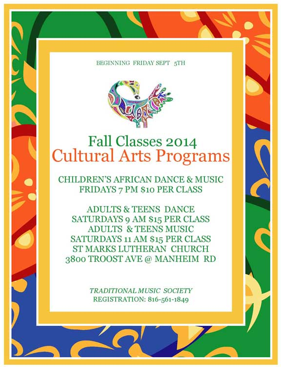 Fall Classes 2014